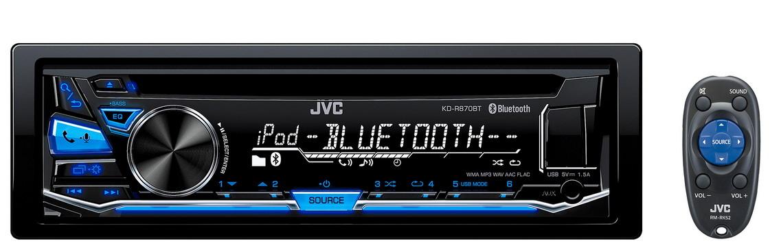 JVC KD-RD97BT와 KD-R870BT 스펙 비교