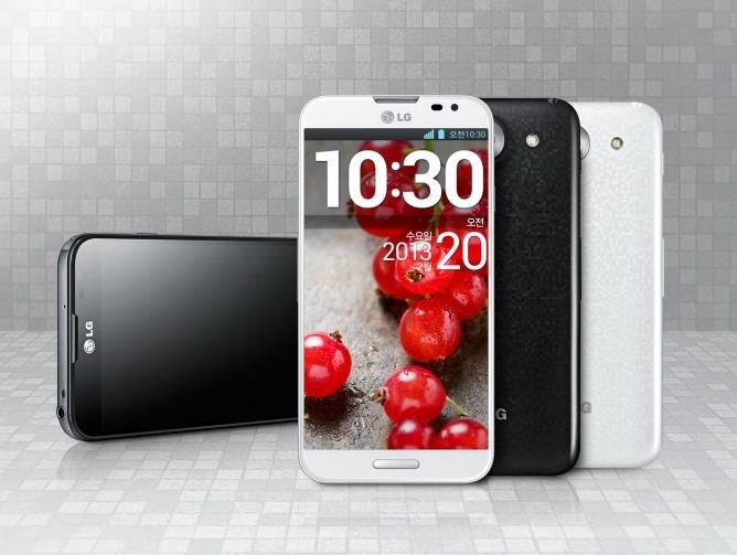 LG FullHD 스마트폰 옵티머스 G Pro 발표