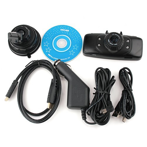 "GS9000 pro Car DVR 1080P Full HD 2.7"" LCD with GPS"
