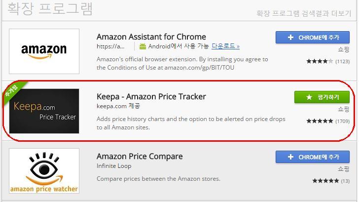 파이어폭스와 크롬용 아마존 가격 트래커 부가기능 살펴보기
