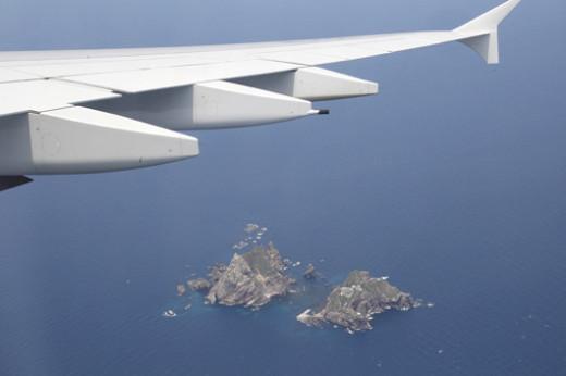대한항공 A380 독도 시범비행