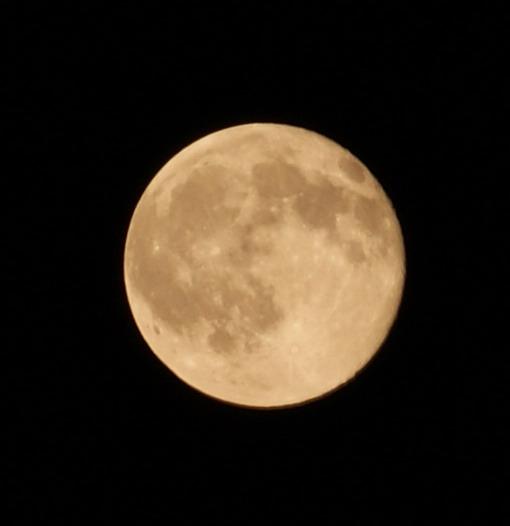 탐론 55-200 Di II LD MACRO로 찍은 보름달 사진 (2)