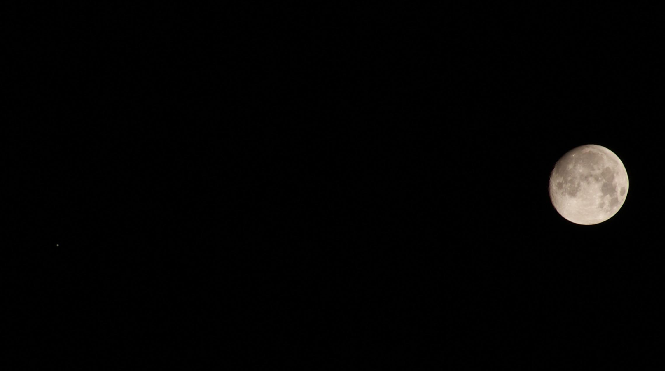 탐론 55-200 Di II LD MACRO로 찍은 보름달 사진 (1)