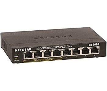 보급형 8포트 PoE Gigabit Switch Hub 4종 사양 비교